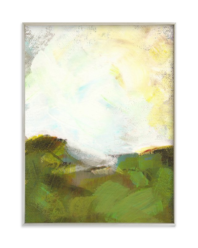 """""""Sacred Heart Field"""" - Art Print by Lorent and Leif in beautiful frame options and a variety of sizes."""