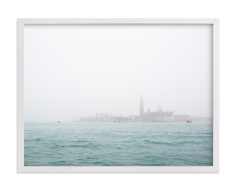 """Venice Fog"" - Art Print by Krissy Bengtson in beautiful frame options and a variety of sizes."