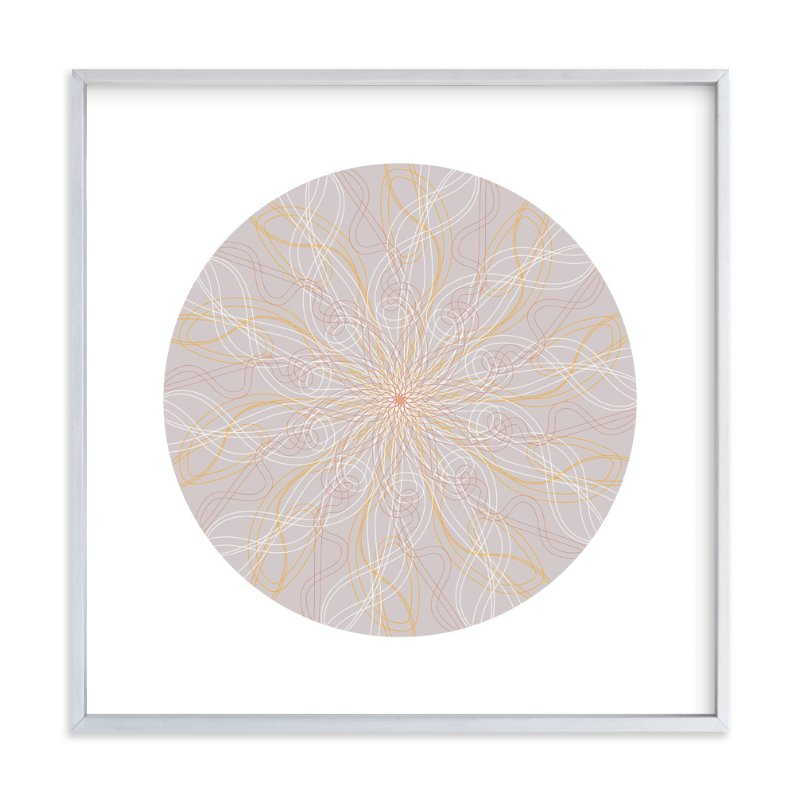 """Planet no.5 Day Dream"" - Art Print by Jan Shepherd in beautiful frame options and a variety of sizes."