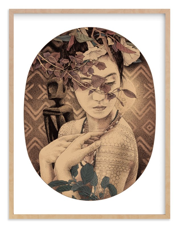 """""""Diwata 1"""" - Art Print by Paper Planes in beautiful frame options and a variety of sizes."""