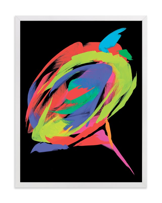 """Exotic rose"" - Art Print by Tatyana Hanenko in beautiful frame options and a variety of sizes."