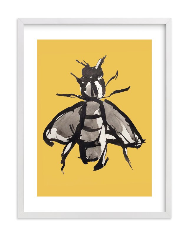 """Endangered Beauty"" - Limited Edition Art Print by Deborah Velasquez in beautiful frame options and a variety of sizes."