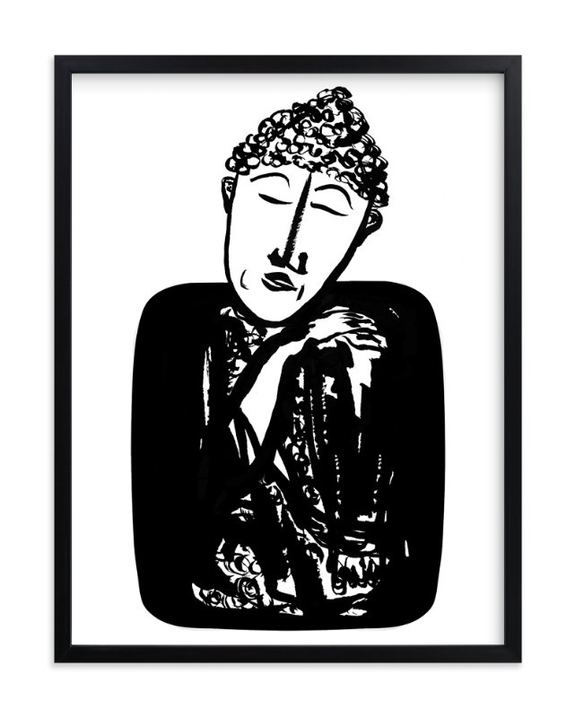 """mind over matter"" - Art Print by Stuart Heir in beautiful frame options and a variety of sizes."
