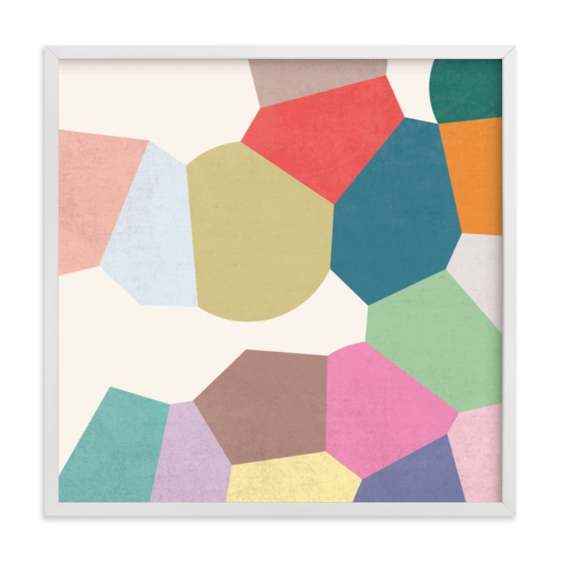 """Pointilize IV"" - Art Print by Amber Barkley in beautiful frame options and a variety of sizes."