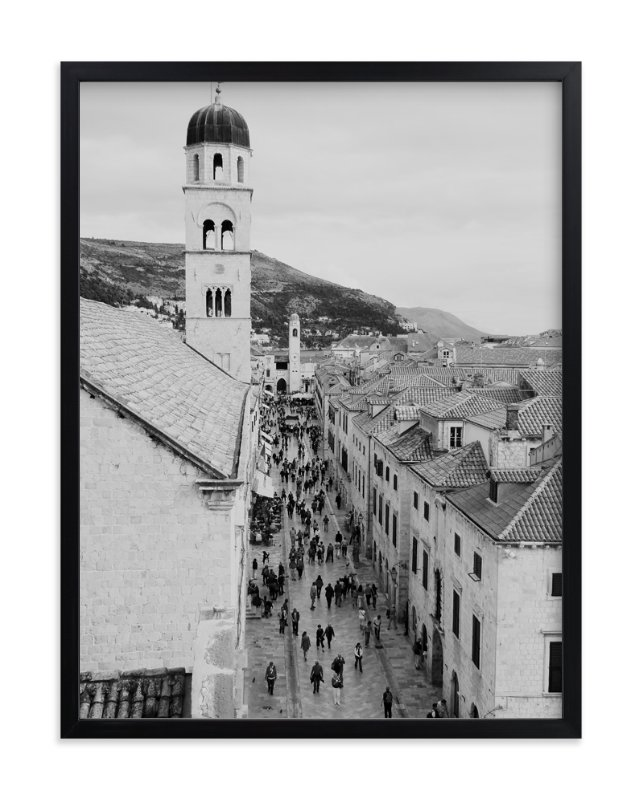"""""""Dubrovnik"""" - Art Print by Amanda Radziercz in beautiful frame options and a variety of sizes."""
