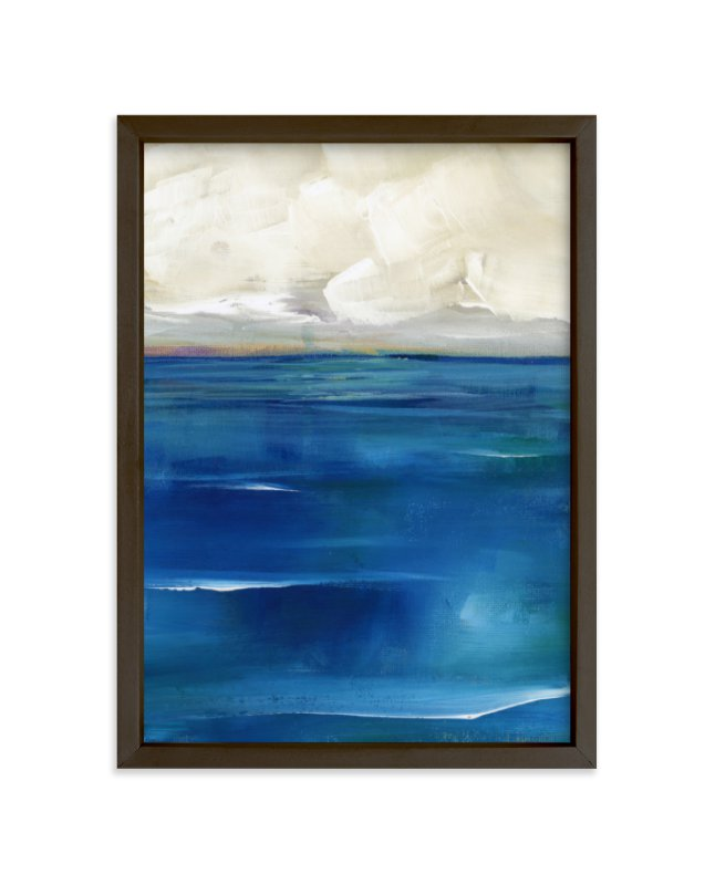 """""""Rising Tide"""" - Limited Edition Art Print by Lindsay Megahed in beautiful frame options and a variety of sizes."""