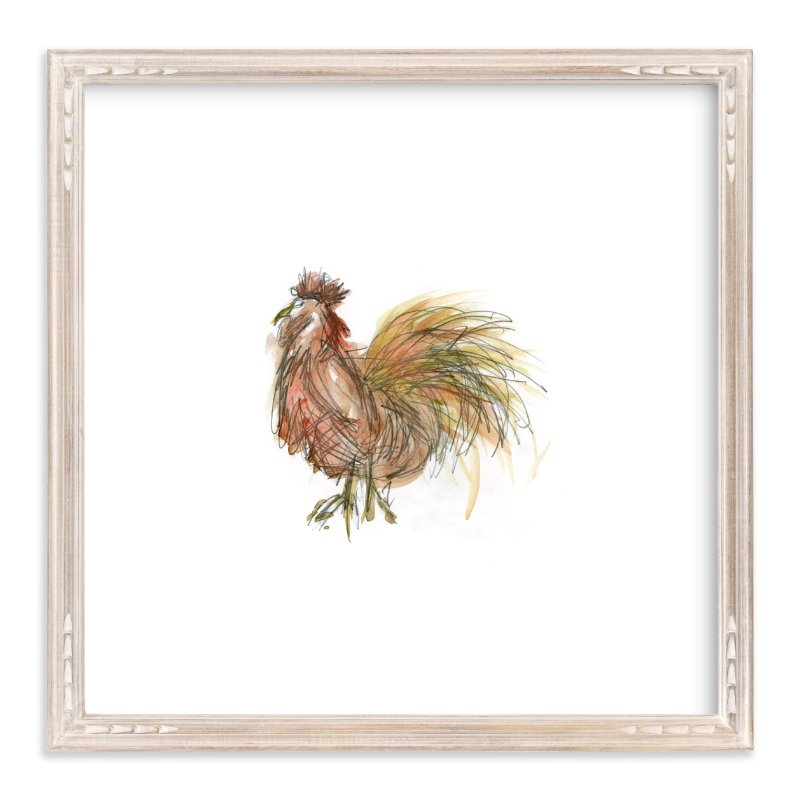 """Coop Cooper"" - Art Print by Mande in beautiful frame options and a variety of sizes."