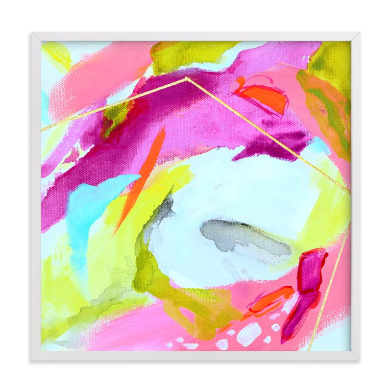 """Fresh Squeezed #2"" - Art Print by Mya Bessette in beautiful frame options and a variety of sizes."