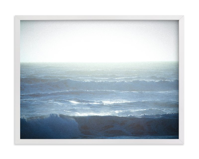 """Fields of Blue (Pacific Ocean)"" - Art Print by Lindsay Ferraris Photography in beautiful frame options and a variety of sizes."