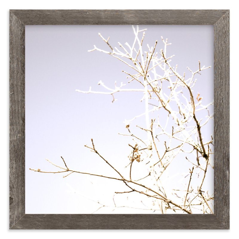 """winter bask"" - Art Print by Design Lotus in beautiful frame options and a variety of sizes."