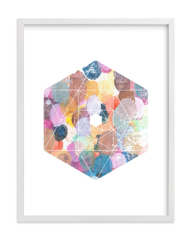 """diamond palette"" - Art Print by kenT youngstrom in beautiful frame options and a variety of sizes."