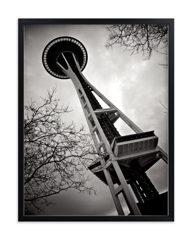 """Space Needle"" - Art Print by Horizon Photography in beautiful frame options and a variety of sizes."