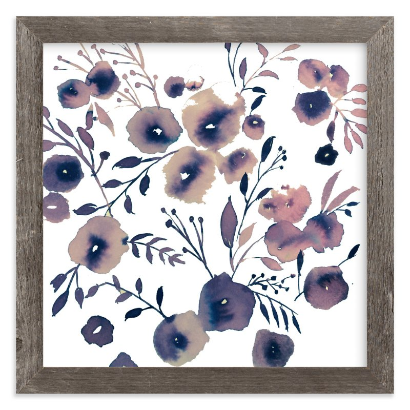 """Snow Flower"" - Art Print by Tae Lee in beautiful frame options and a variety of sizes."