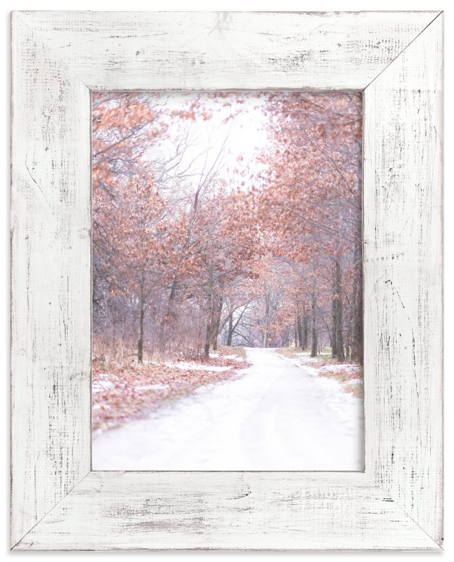 """""""Walk with Winter"""" - Art Print by Kamala Nahas in beautiful frame options and a variety of sizes."""