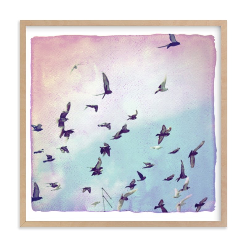 """""""Take Flight"""" - Art Print by j.bartyn in beautiful frame options and a variety of sizes."""