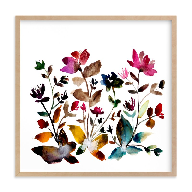 """""""island wildflowers no.6"""" - Art Print by Kiana Mosley in beautiful frame options and a variety of sizes."""