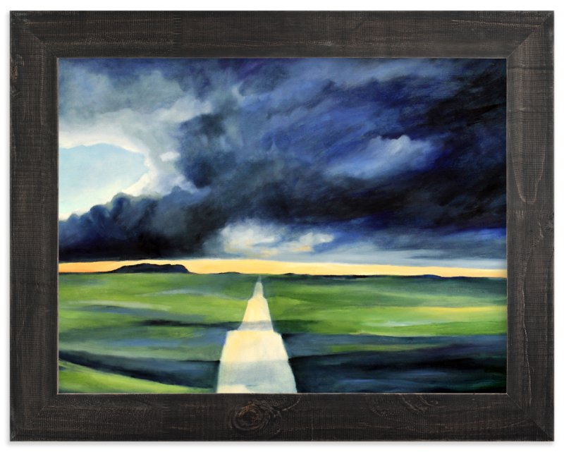 """""""Storm Window"""" - Art Print by claire whitehead in beautiful frame options and a variety of sizes."""