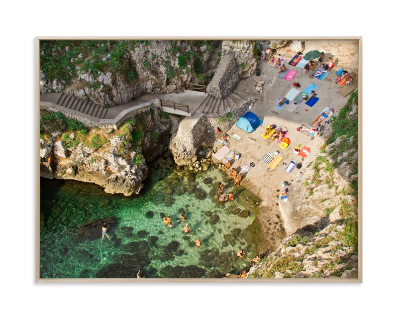 """""""Ponte del Ciolo"""" - Art Print by Sandro Portaluri in beautiful frame options and a variety of sizes."""