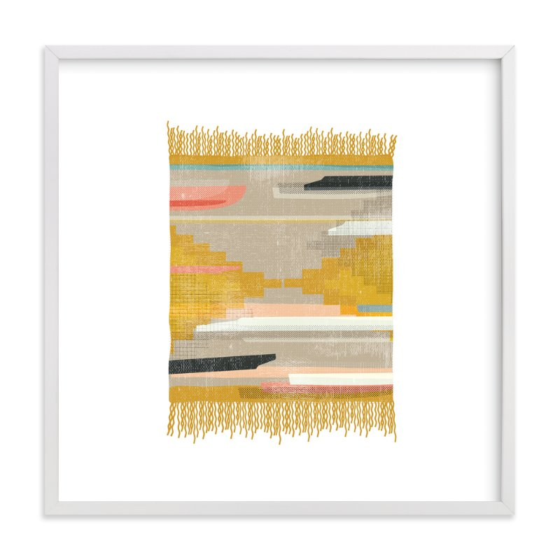 """Tapestry 3"" - Art Print by Kate Capone aka Oh So Suite in beautiful frame options and a variety of sizes."