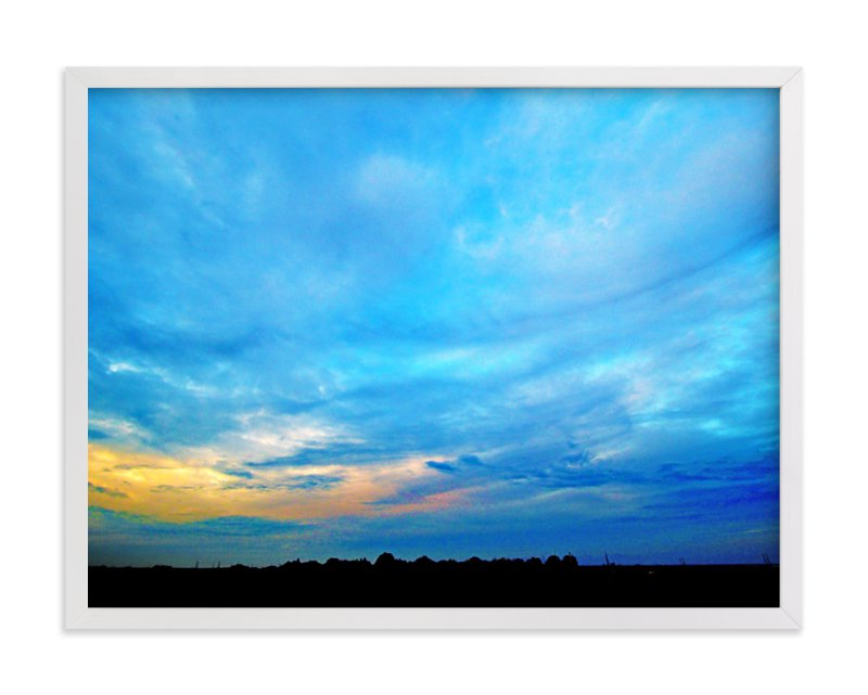 """""""Look at the sky!"""" - Art Print by NSMARK in beautiful frame options and a variety of sizes."""