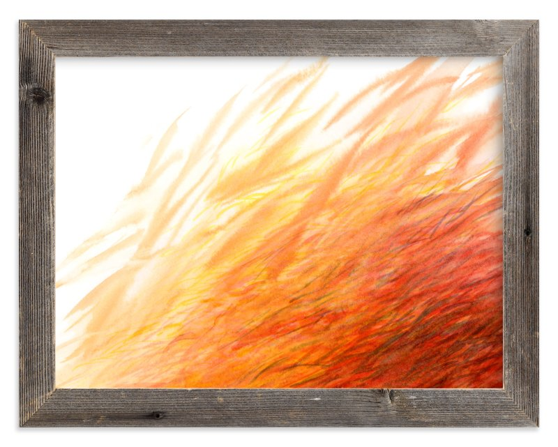 """Blaze"" - Limited Edition Art Print by Cathy Moynihan in beautiful frame options and a variety of sizes."