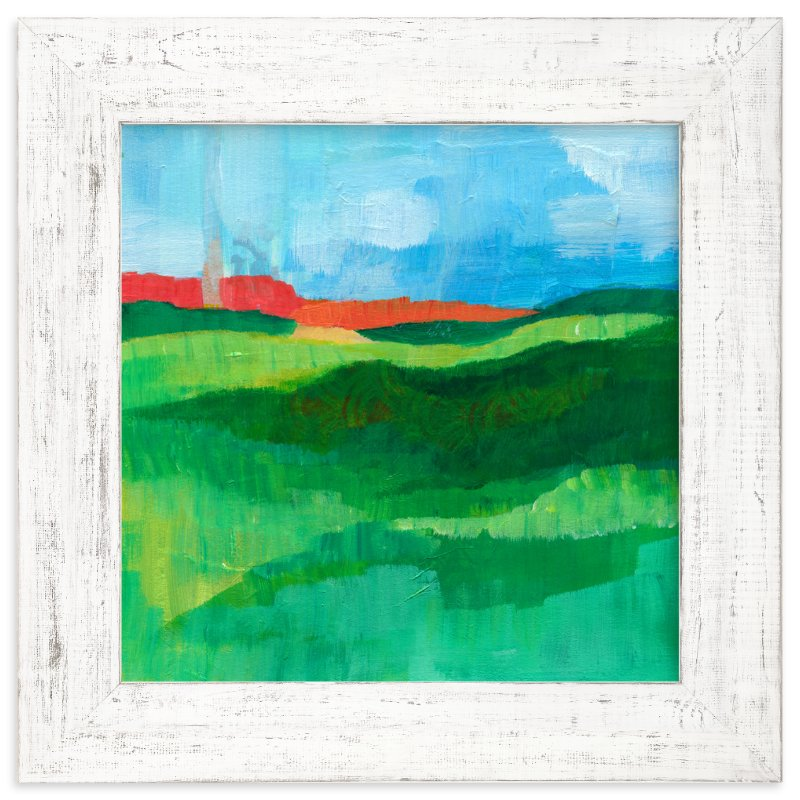 """""""Landscape Study"""" - Art Print by Laura Bolter Design in beautiful frame options and a variety of sizes."""