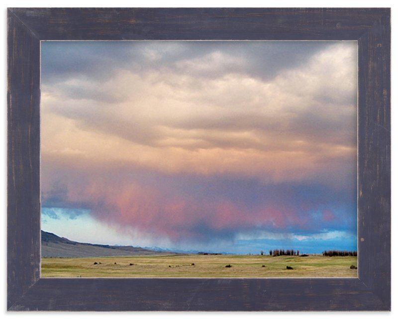 """""""Sweeping Skies"""" - Art Print by Abby Niziol in beautiful frame options and a variety of sizes."""