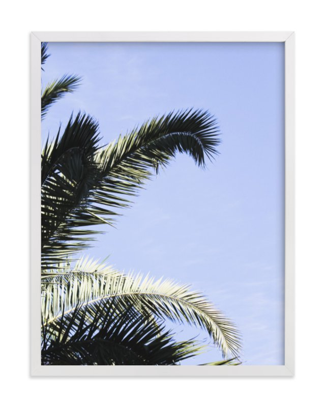 """Palm II"" - Art Print by Annie Montgomery in beautiful frame options and a variety of sizes."