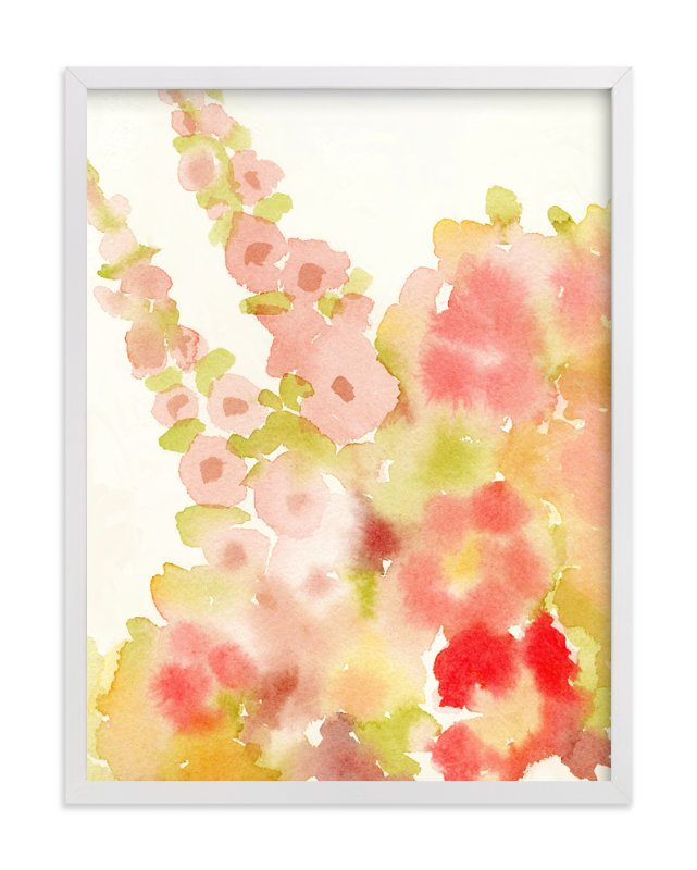 """""""Nana's Bouquet"""" - Art Print by Me Amelia in beautiful frame options and a variety of sizes."""