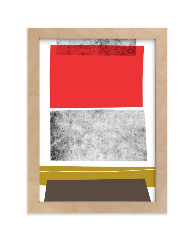 """Abstracciones Vol. 3"" - Art Print by Aspacia Kusulas in beautiful frame options and a variety of sizes."