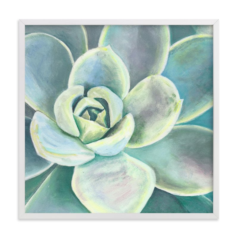 """Green Velvet"" - Art Print by Heather M. Roberts in beautiful frame options and a variety of sizes."