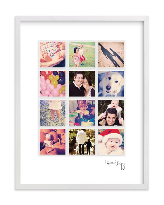 """""""A Year in My Life"""" - Custom Photo Art Print by Robin Ott in beautiful frame options and a variety of sizes."""