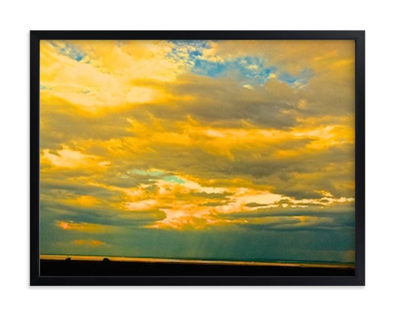 """""""The Empty"""" - Art Print by S.L. Bird in beautiful frame options and a variety of sizes."""