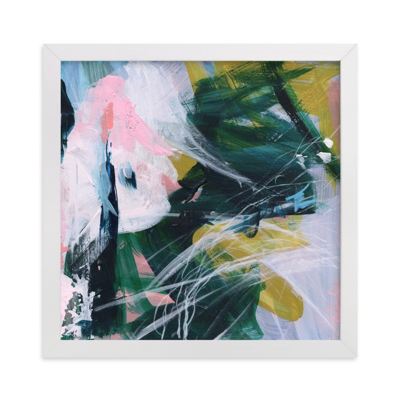 """""""Arm In Arm"""" - Limited Edition Art Print by Jennifer Daily in beautiful frame options and a variety of sizes."""