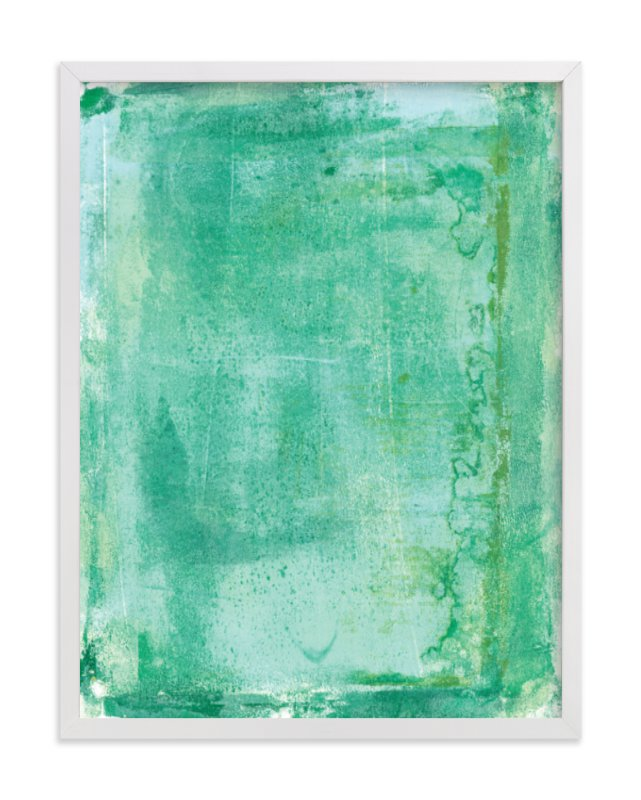 """""""Ocean Abstract IV"""" - Art Print by Vine and Thistle in beautiful frame options and a variety of sizes."""