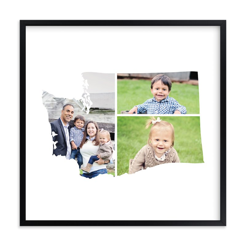 """""""Washington Love Location"""" - Custom Photo Art Print by Heather Buchma in beautiful frame options and a variety of sizes."""