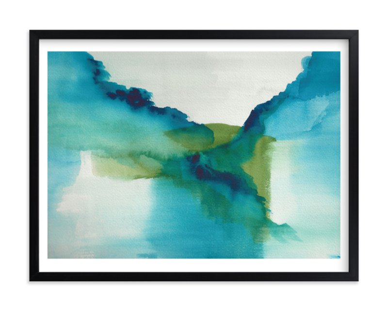 """Enchant"" - Art Print by Christine Llewellyn in beautiful frame options and a variety of sizes."