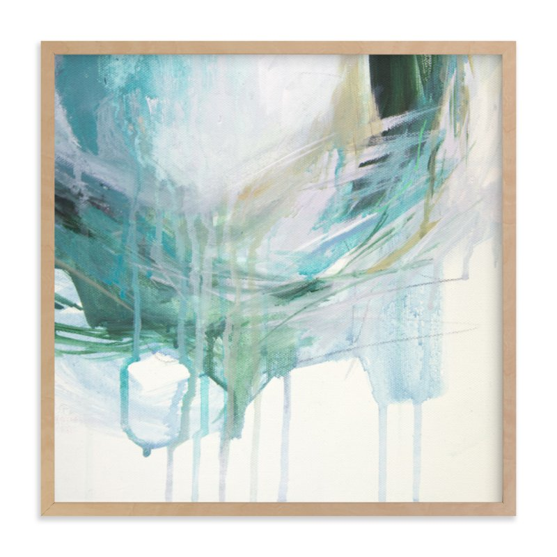 """Tidal Thought"" - Art Print by Jennifer Daily in beautiful frame options and a variety of sizes."