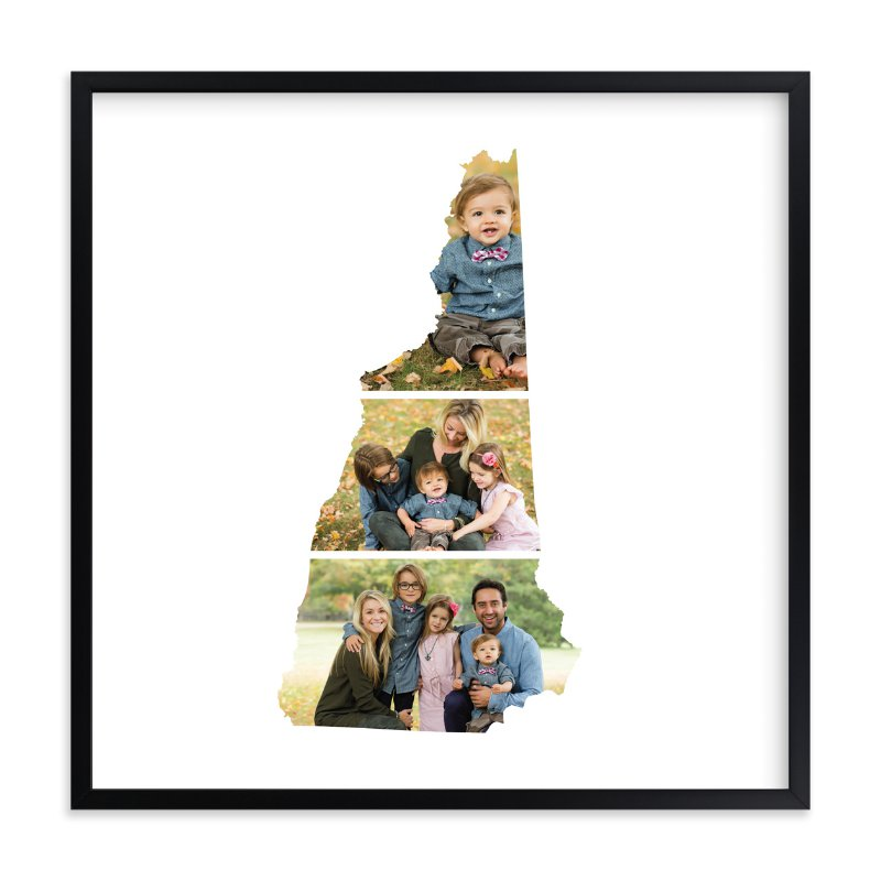"""""""New Hampshire Love Location"""" - Custom Photo Art Print by Heather Buchma in beautiful frame options and a variety of sizes."""