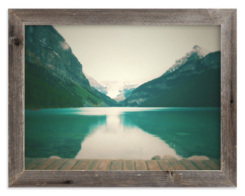"""Lake Louise"" - Art Print by Lisa Cersovsky in beautiful frame options and a variety of sizes."