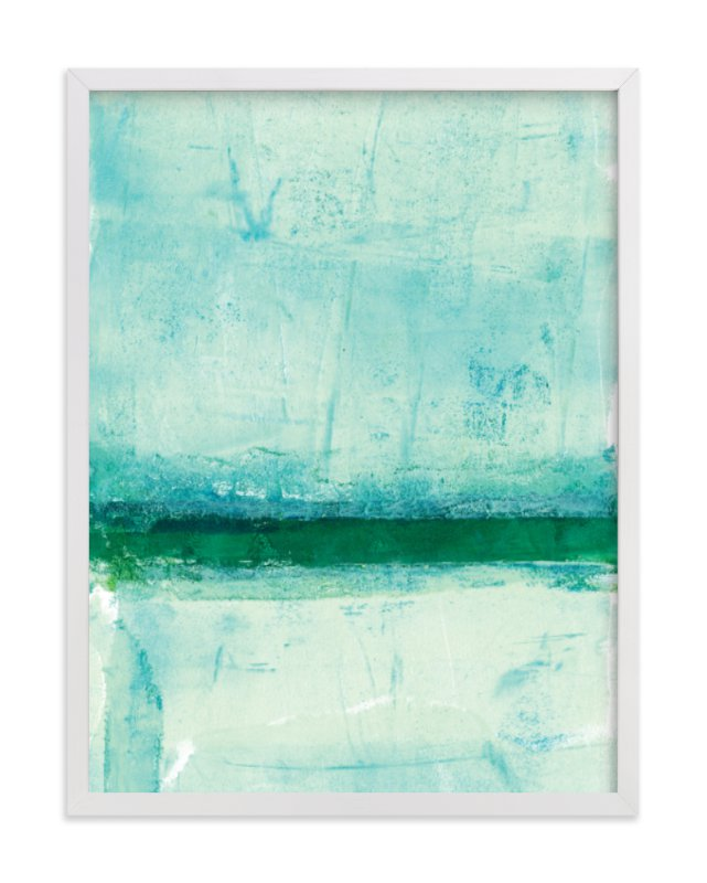 """""""Ocean Abstract III"""" - Art Print by Vine and Thistle in beautiful frame options and a variety of sizes."""