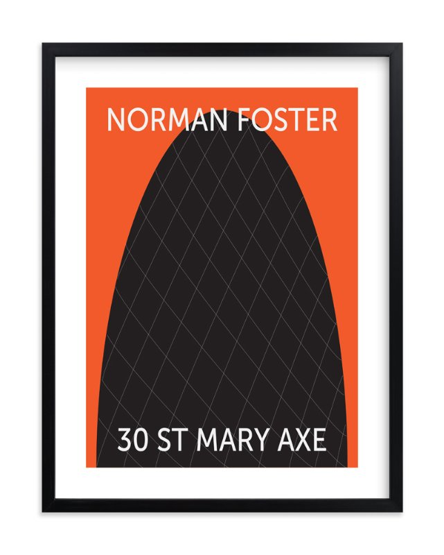 """30 St. Mary Axe"" - Art Print by ryan maher in beautiful frame options and a variety of sizes."