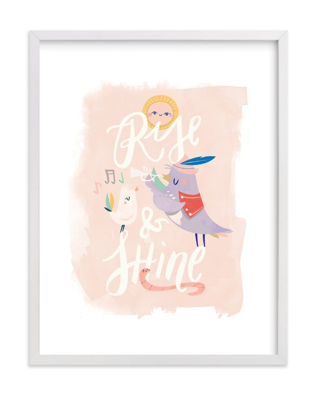 """""""Rise and Shine"""" - Limited Edition Art Print by Lori Wemple in beautiful frame options and a variety of sizes."""