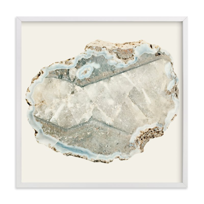"""Agate"" - Art Print by Baumbirdy in beautiful frame options and a variety of sizes."