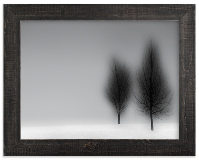 """a foggy NIGHT"" - Art Print by Gail Schechter in beautiful frame options and a variety of sizes."