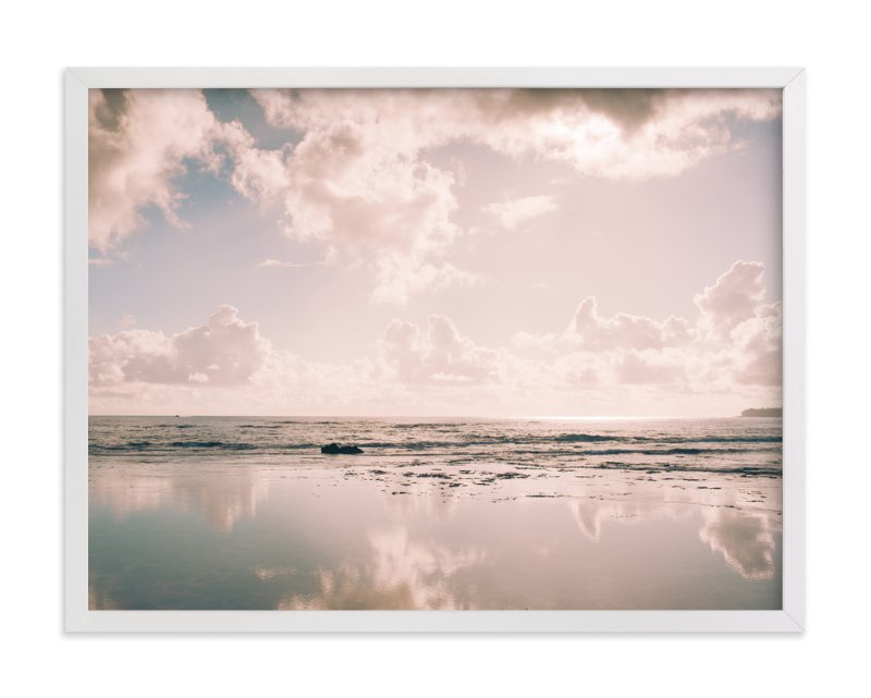 """Reflecting Clouds"" - Art Print by Anna Western in beautiful frame options and a variety of sizes."