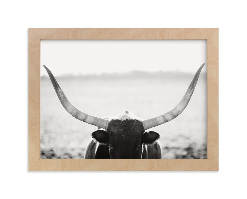 """Staredown"" - Art Print by Amy Carroll in beautiful frame options and a variety of sizes."