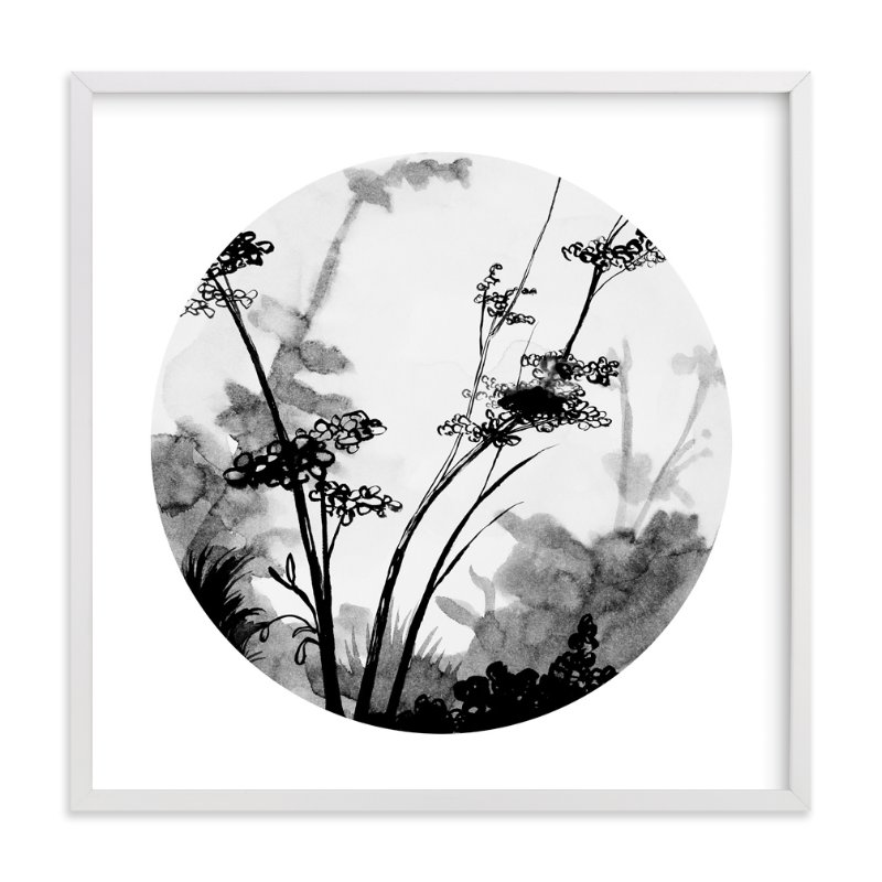 """""""Queen Anne's Lace"""" - Art Print by Lauren Matsumoto in beautiful frame options and a variety of sizes."""