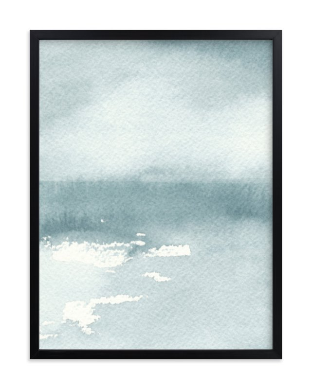 """Ice on the Lake"" - Limited Edition Art Print by Renee Anne in beautiful frame options and a variety of sizes."