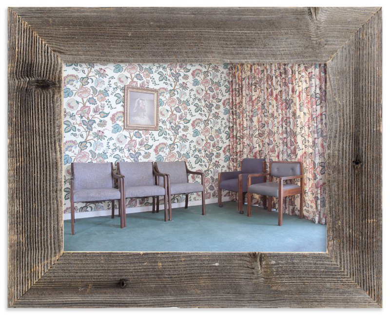 """""""Waiting Room"""" - Art Print by Julie Grace Immink in beautiful frame options and a variety of sizes."""